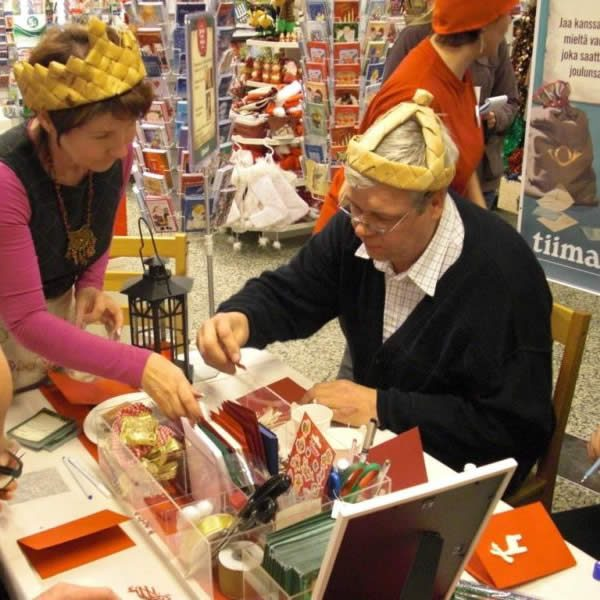 Esa ja Anja Lindroos ovat Jämsän Ämmä ja Äijä